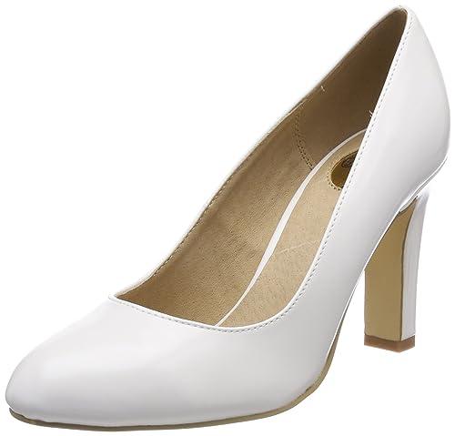 Pu Para Complementos Y es 1 C473a P1239k Mujer Amazon Zapatos Box Tacón De Buffalo qIT8wp