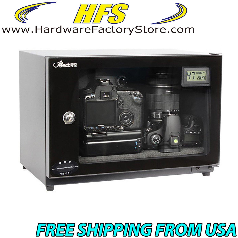 HFS (Tm) 25l Digital Control Dehumidify Dry Cabinet Box Lens Camera Equipment Storage