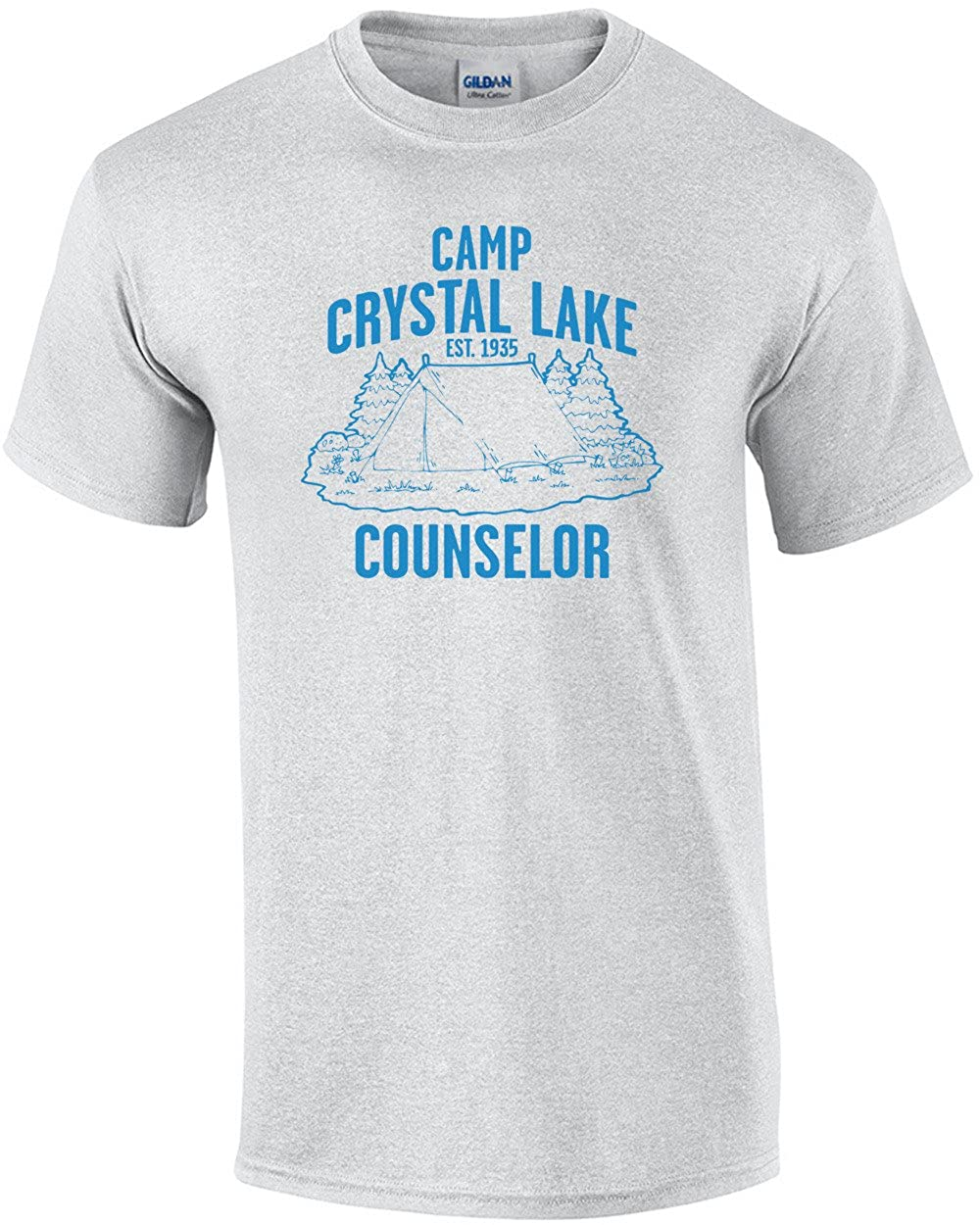 001da5e6 Amazon.com: Better Than Pants Camp Crystal Lake Counselor T-Shirt: Clothing