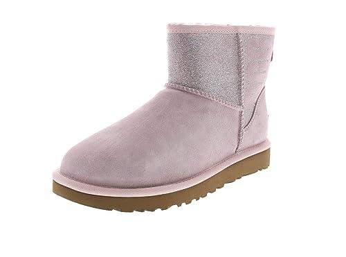 UGG Tronchetto Classic Mini Sparkle Donna Mod. 1098452W: Amazon.es: Zapatos y complementos
