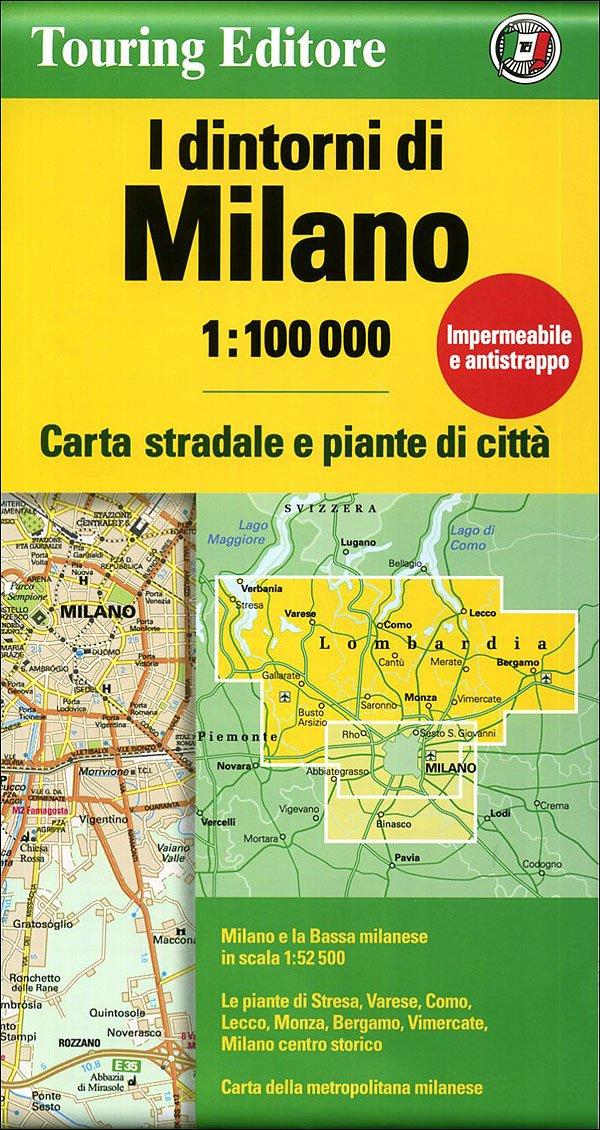 Read Online Milan and Surroundings: TCI 1:100K (English and Italian Edition) pdf epub
