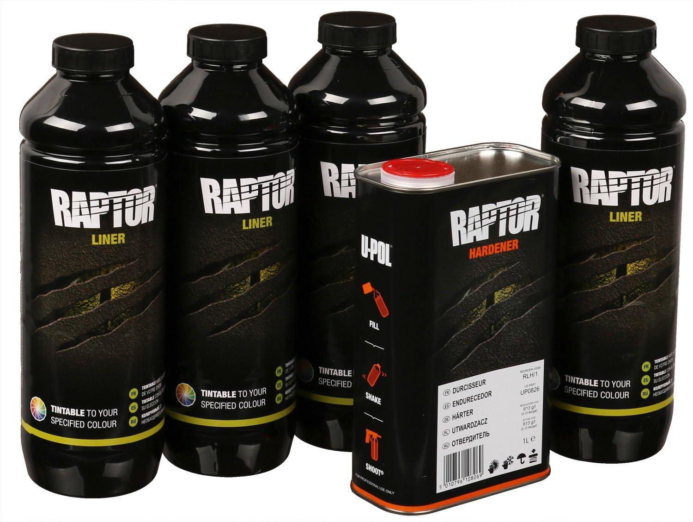 Upol Raptor Schwarz Pick Up Transportflächen Fahrzeug Beschichtung Schwarz 3 79 Liter Auto