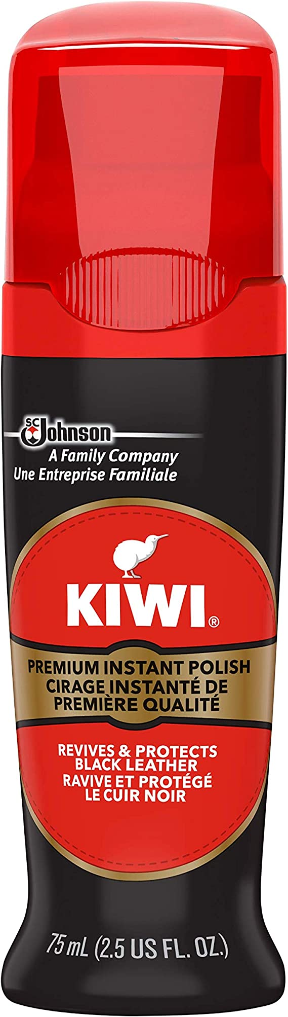 Nourishes /& Protects Wax Leather Coating Shine 36g Kiwi Shoe Polish Shine