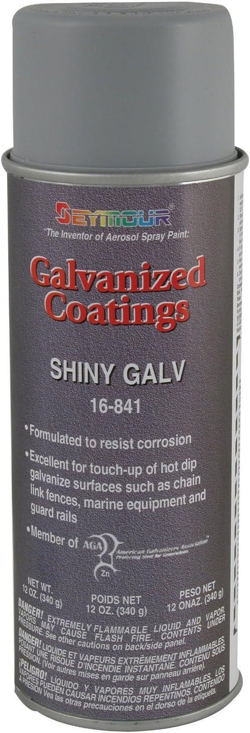Seymour 16-841 Galvanized Coatings Spray Paint, Shiny