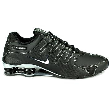 Nike Shox nz Chaussures de course à pied (Noir/métallique Silver-anthrct,