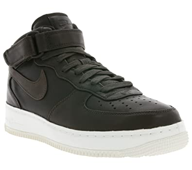 wholesale dealer aa73c fbbdc Nike Mens Lab Air Force 1 Mid Velvet Brown Leather Size 8.5