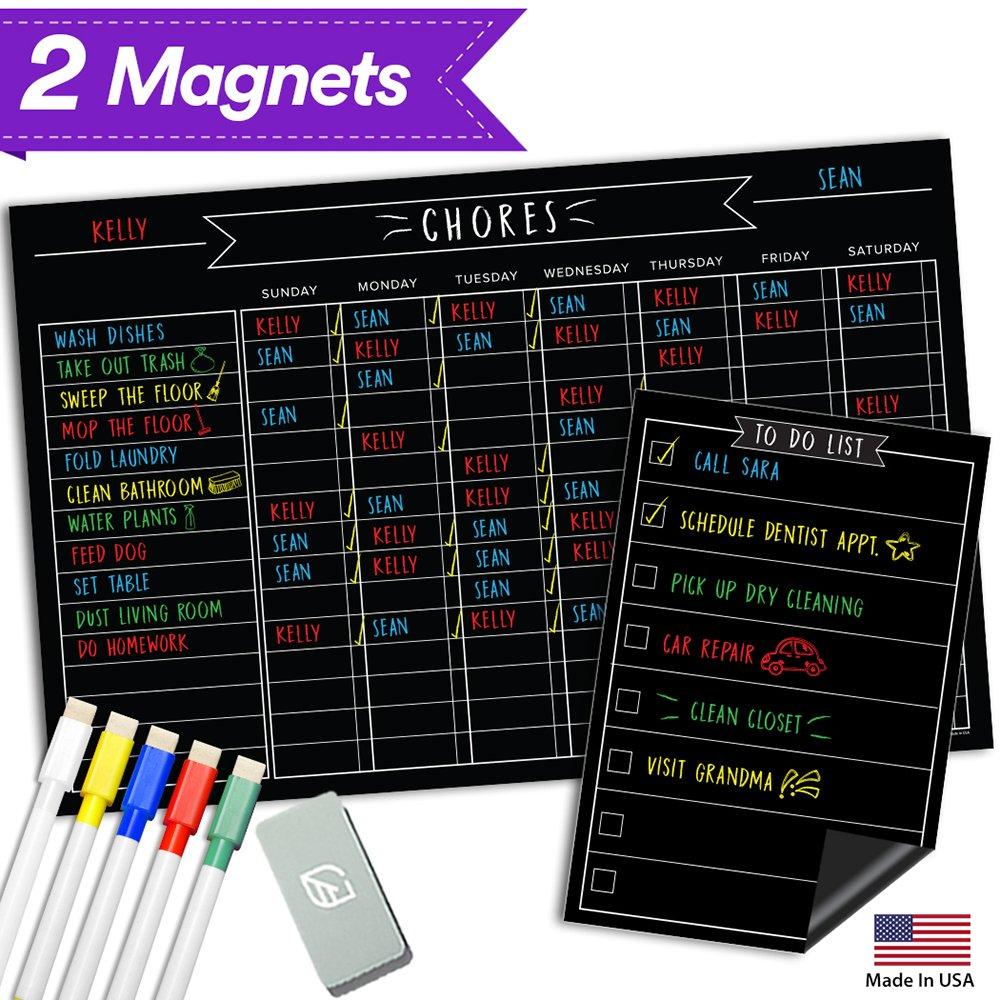 Tabla de tareas de pizarra de comportamiento magnético - 17 ...