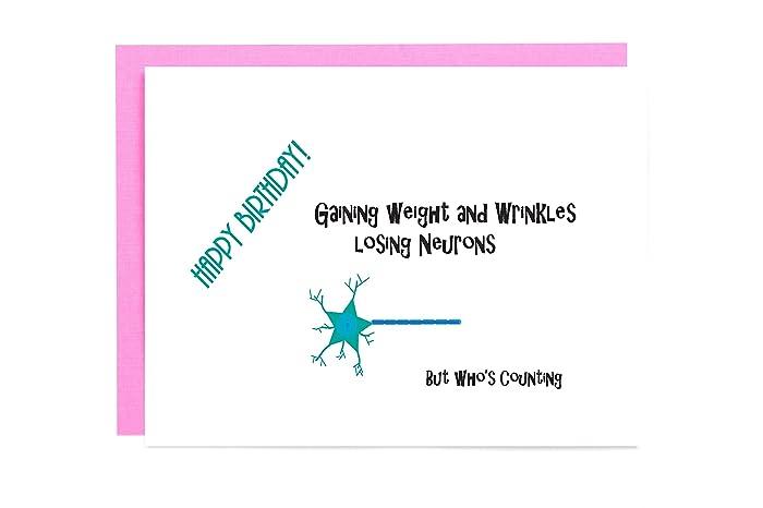 Amazon Medical Funny Nerd Birthday Card Handmade