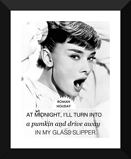 Buy Tallenge - Classic Movie Poster Art - Roman Holiday -Audrey ...