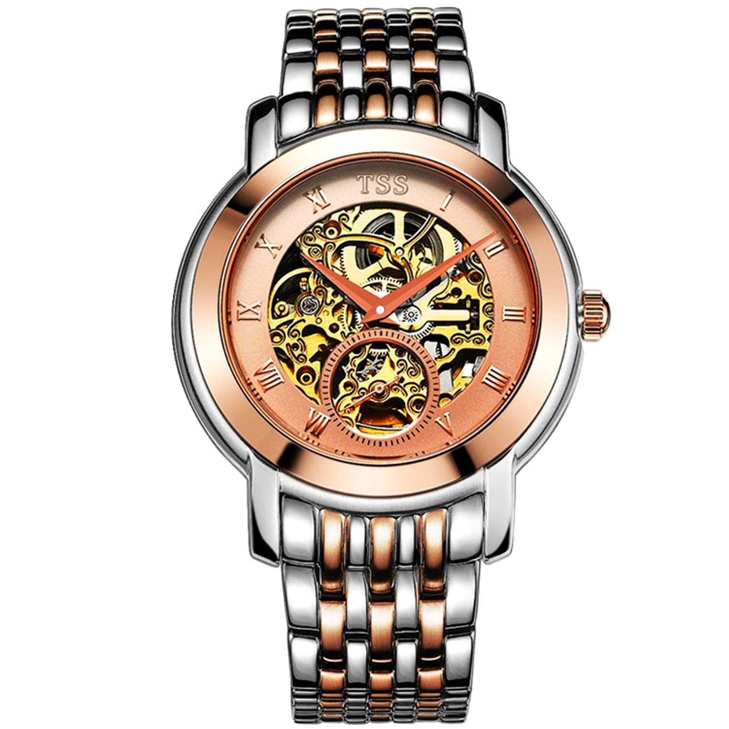 Hohle Handgelenk Herrenuhr-Mode wasserdicht Business Watch-F