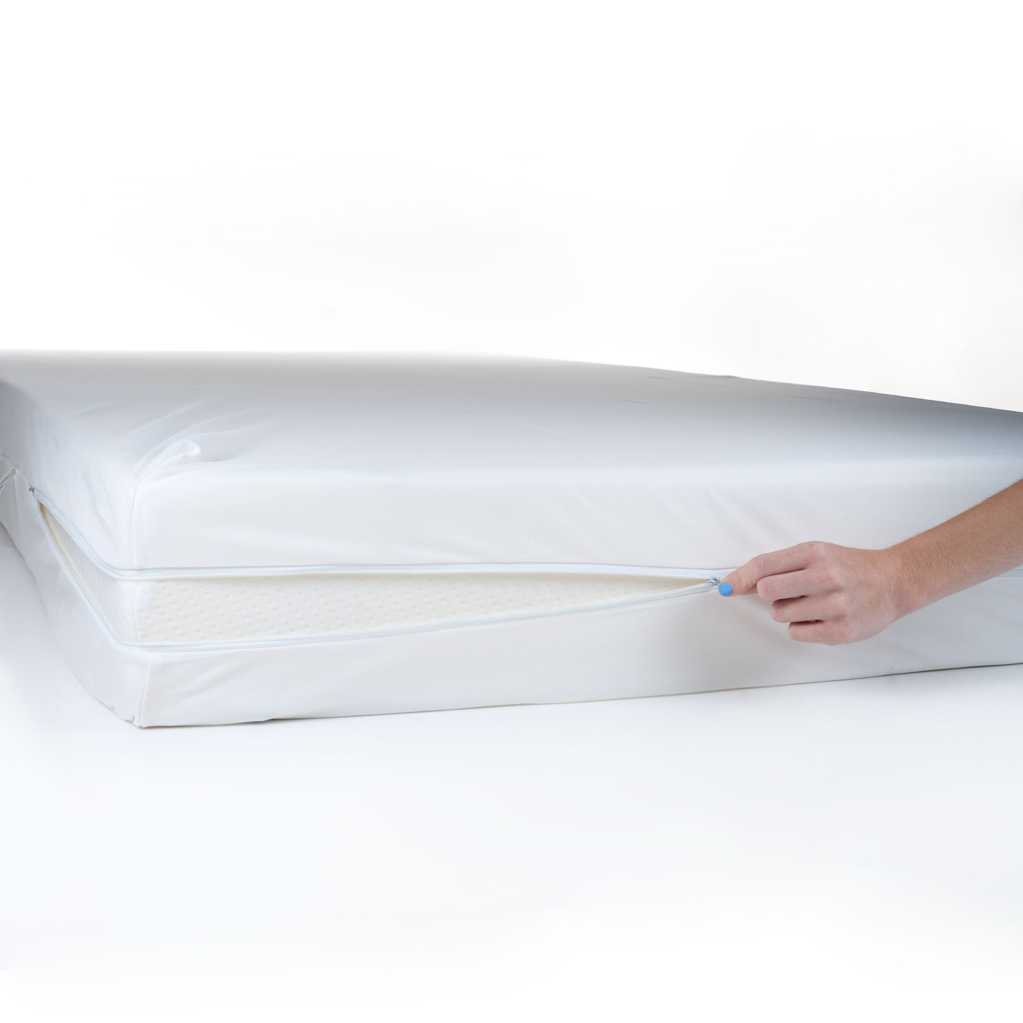 Everyday Home 2-Piece Bed Bug and Dust Mite Mattress and Pillow Protector, Twin