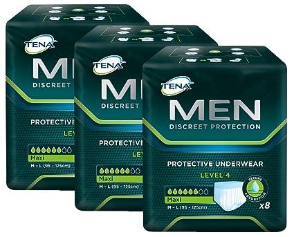 TENA MEN Nivel 4 - ropa interior protectora desechable para hombres con moderada a severa incontinencia
