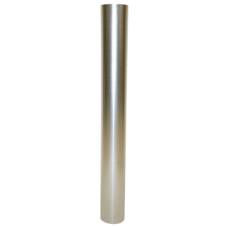 Kamino - Flam - Tubo para chimenea (Ø 130 mm/longitud 1000 mm), Tubo para estufa de leña, Conducto de humos - acero resistente a altas temperaturas ...