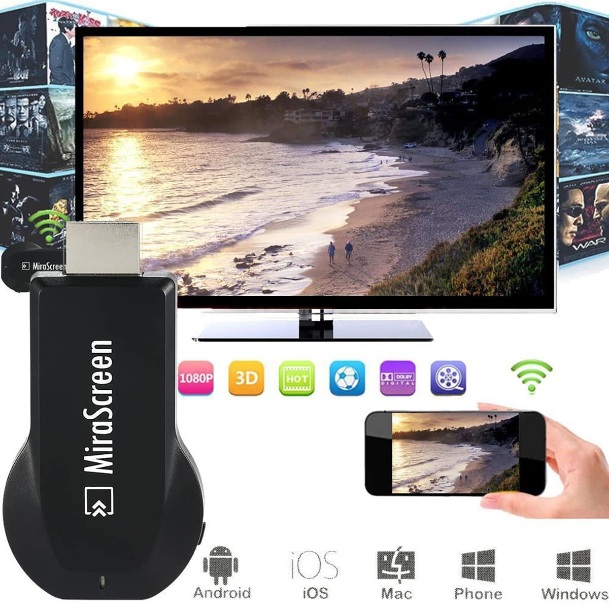 Dongle Chromecast TV