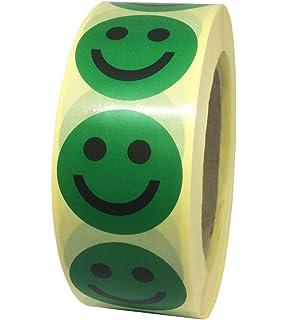Pastilles Gommettes Smiley Pas Content Rouge En Papier Autocollant