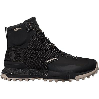 95cf1fd977 Under Armour Men s UA Newell Ridge Mid Reactor Black Autumn Tan Black 14 D  US  Amazon.co.uk  Shoes   Bags