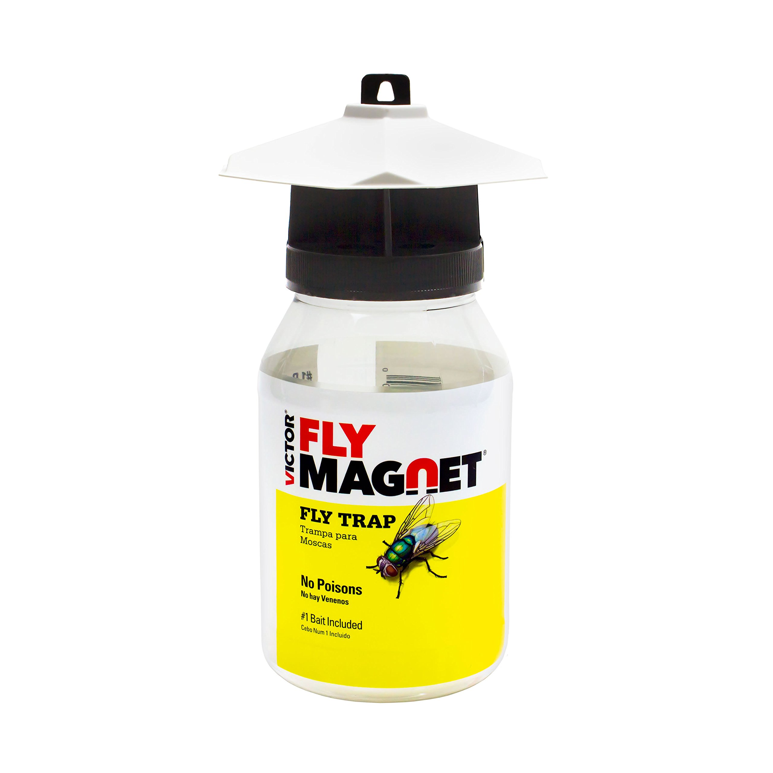 Victor M380 Fly Magnet Reusable Trap with Bait by Safer Brand