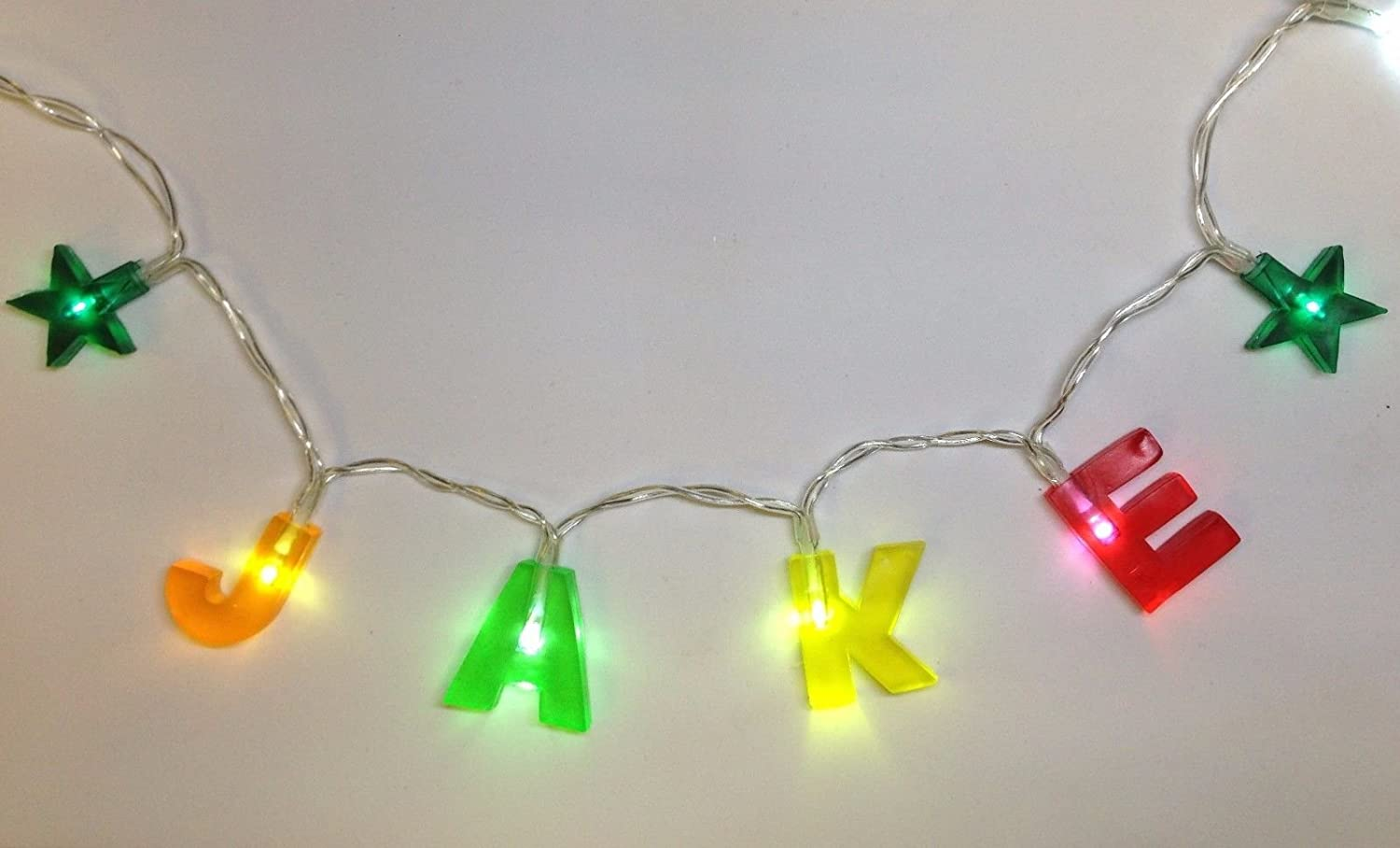 ANY NAME IN LIGHTS //// LED Light Chain with any name available up to 8 letters or characters get YOUR NAME IN LIGHTS!