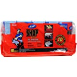 Scott Multi Purpose Shop Towels for Hands and Cleanup Jobs, Pack of 10 Rolls