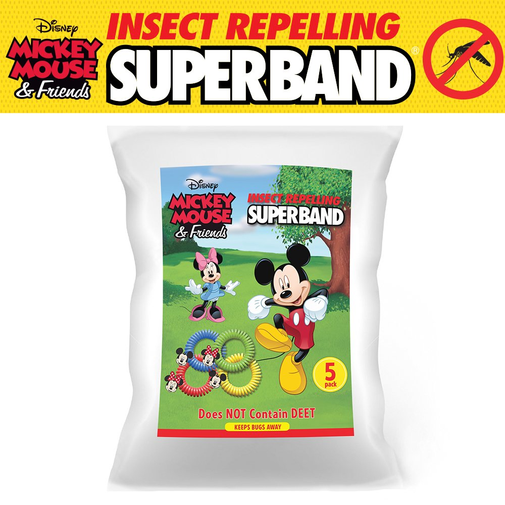 Amazon.com: CLASSIC DISNEY SUPERBAND: All Natural Insect Repelling ...