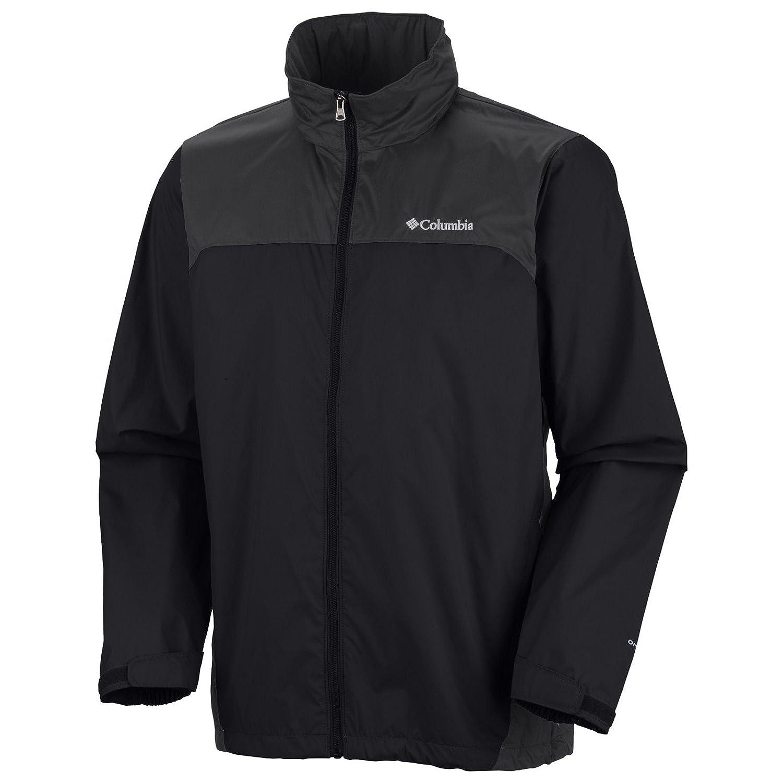 (コロンビア) Columbia GLENNAKER LAKE RAIN ジャケット RM2015 [メンズ] B01BVTST3I XXX-Large|Black / Grill Black / Grill XXX-Large
