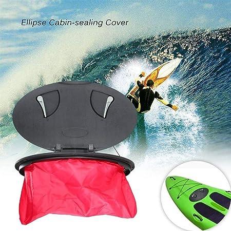LNNUKc Ellipse Shoreline Marine Kayak Deck Plate Kit ...
