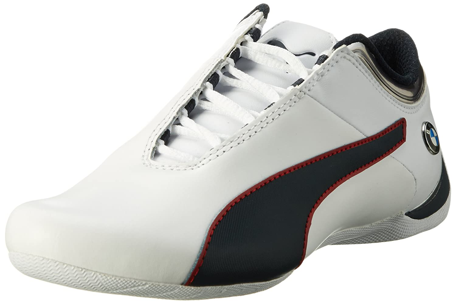Puma BMW Ms Future Cat Mu, Zapatillas Unisex Adulto 40.5 EU|Blanco (Puma White-team Blue-high Risk Red 02)