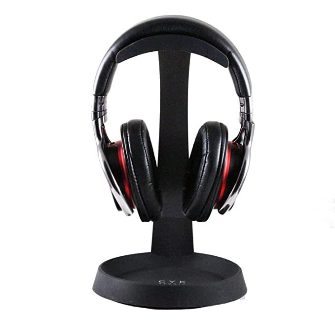 be10369a2d9 Image Unavailable. Image not available for. Color: Navitech Steel On Ear & Over  Ear Headphones Stand Holder For The Zealot B21 Wireless Bluetooth