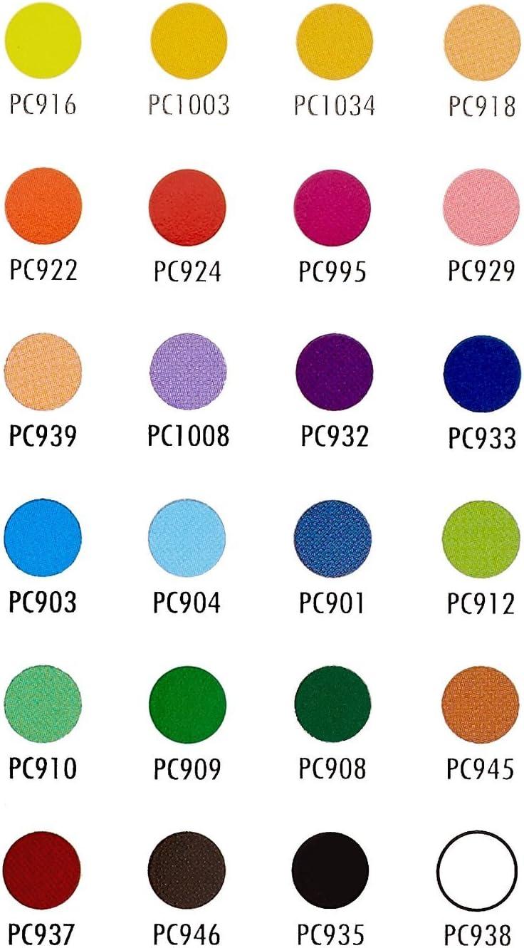 Prismacolor 3597THT Premier Colored Woodcase Pencils 24 Assorted Colors//Set