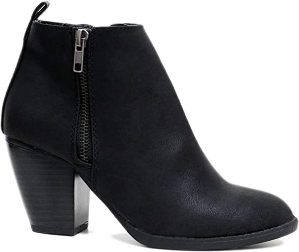 Ladies Womens Ankle Wide Boots Chelsea