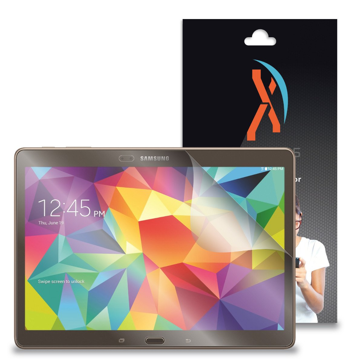 XShields© (2-Pack) Screen Protectors for Samsung Galaxy Tab S 10.5'' Tablet (Ultra Clear) by XShields© (Image #1)