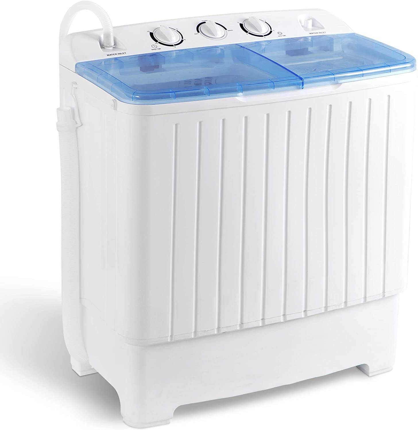 SUPER DEAL 2-IN-1 Mini Compact Twin Tub Washing Machine