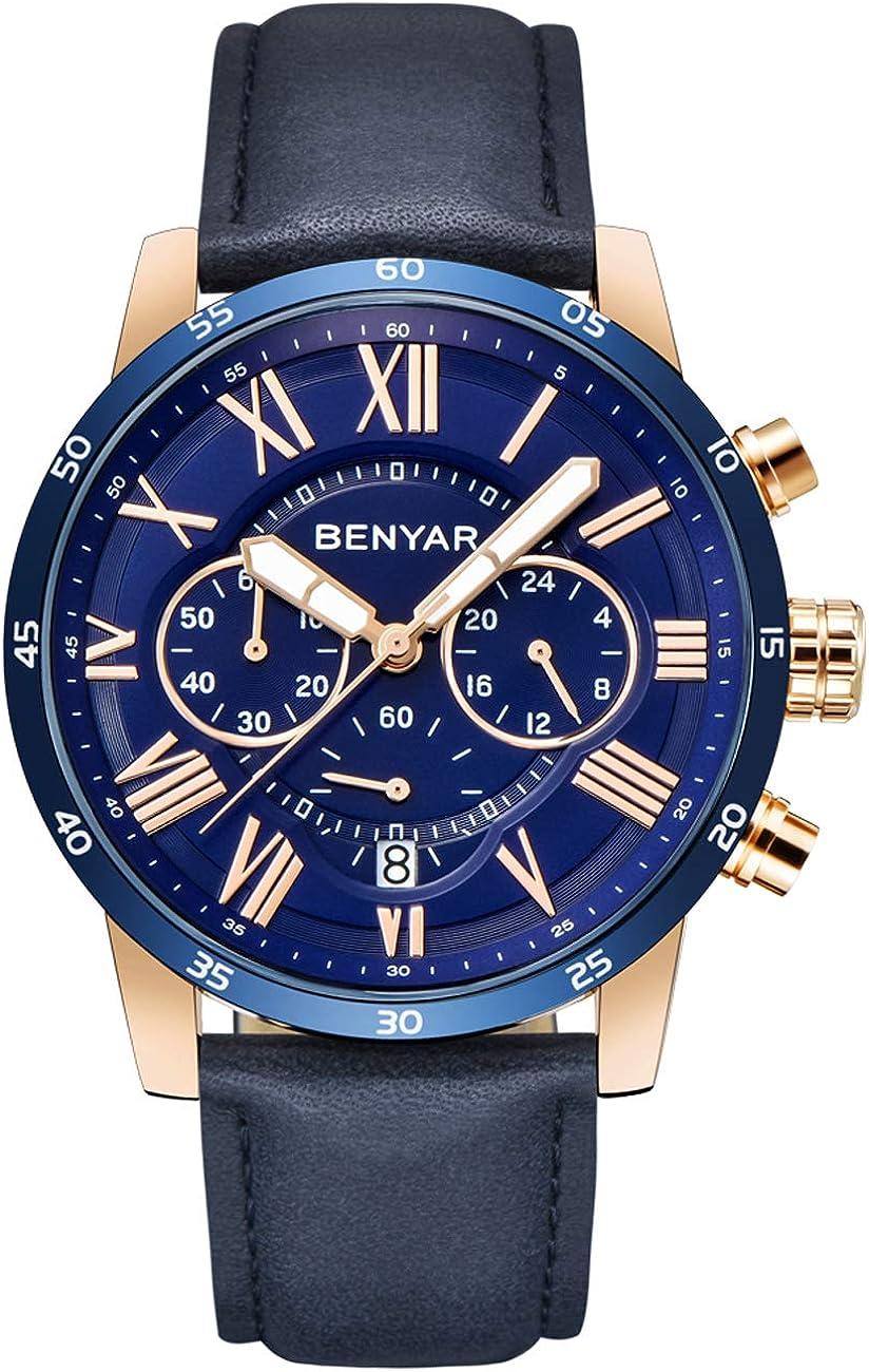 Montre Benyar By 5139m Amazon Fr Montres
