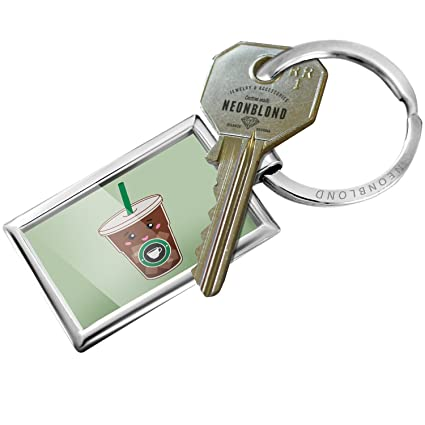 Amazon.com  NEONBLOND Keychain Ice Coffee Cute 79e33f1001a9