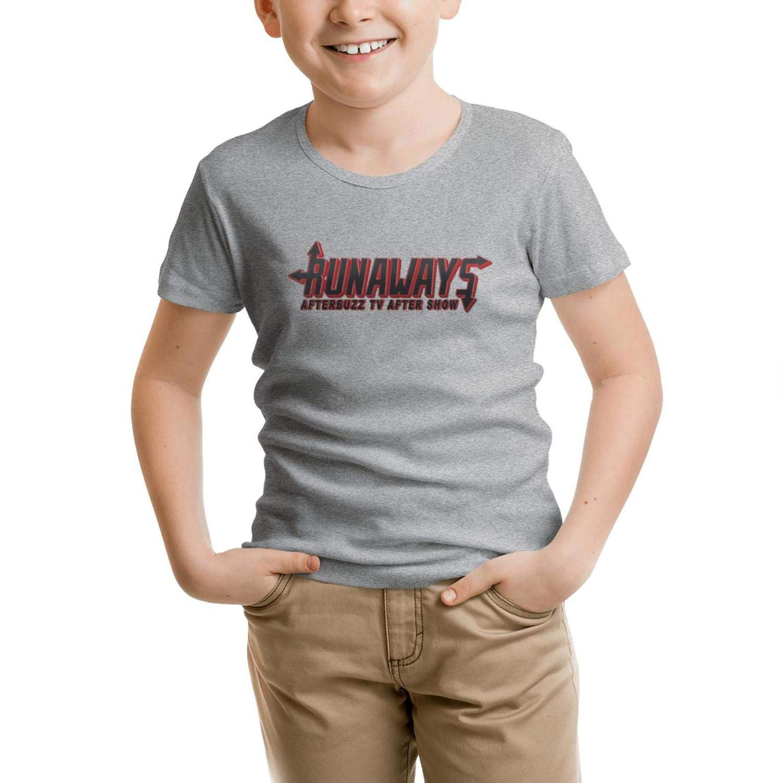 LUJXN Kids Crew Neck T-Shirt Ornate Short Sleeve Summer Tees Cheeky