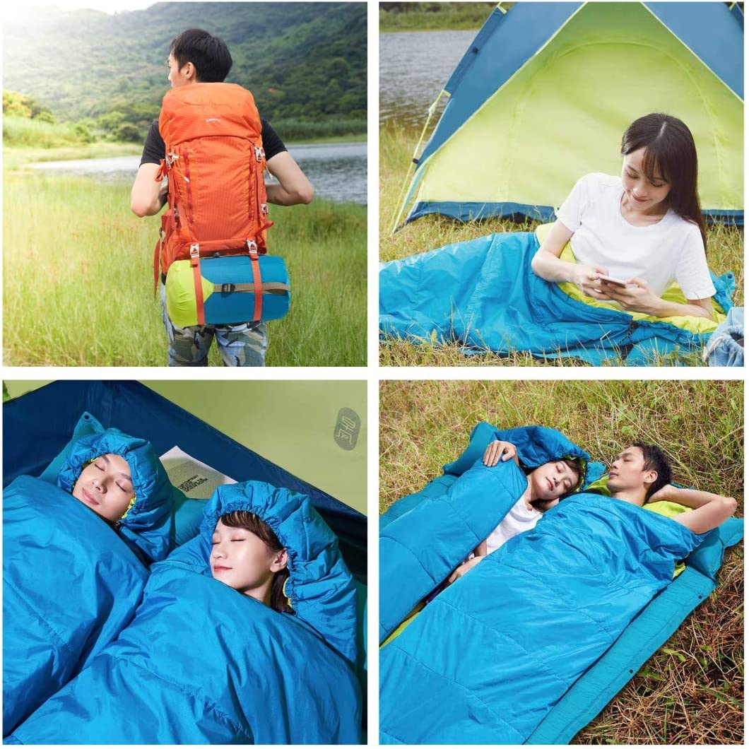 32℉//0℃ Extreme 3-4 Season Lightweight Backpacking Sleeping Bag for Hiking /& Outdoor Great for Boys Girls and Adults Bessport Camping Sleeping Bag