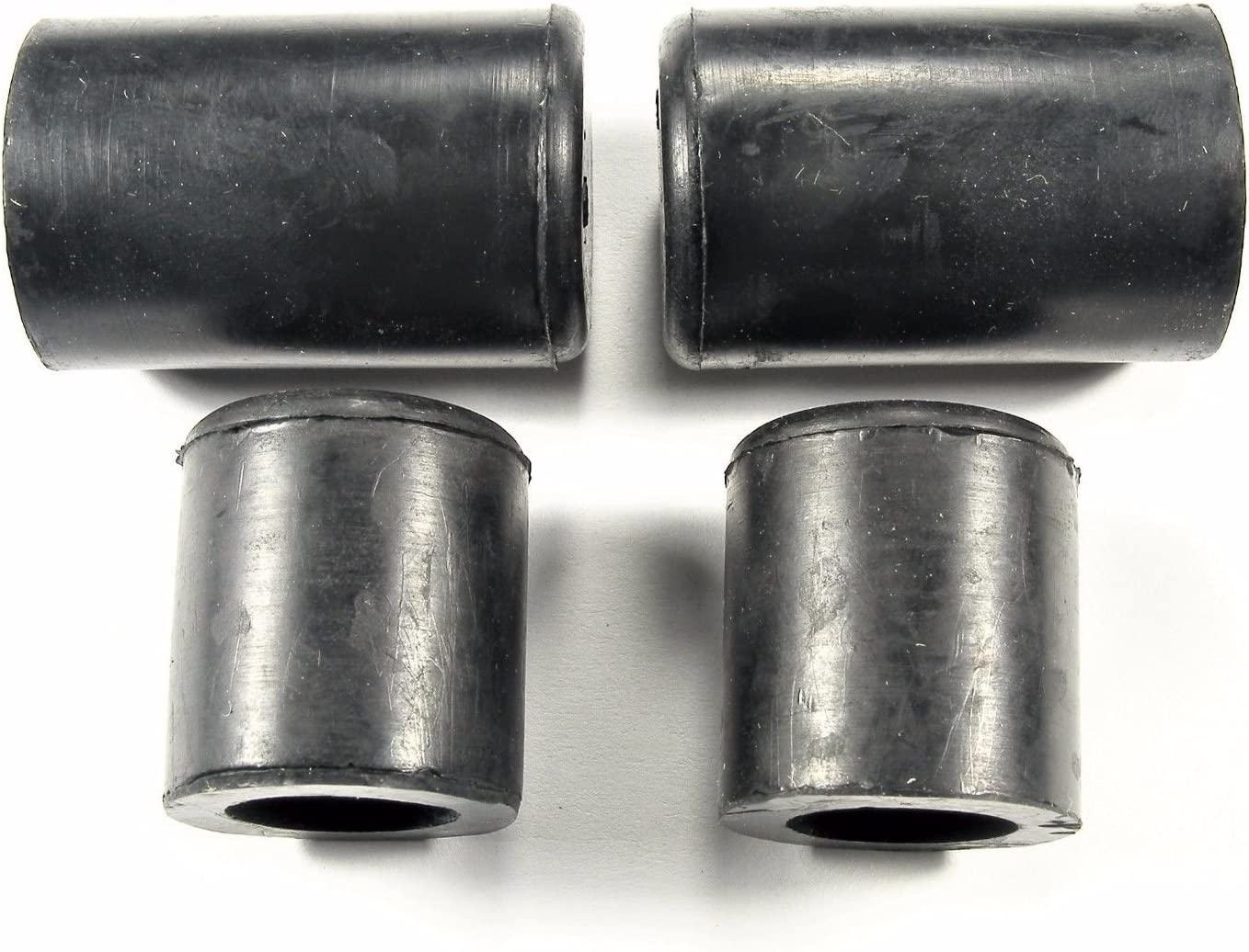 """Fits 5//8/"""" /& 3//4/"""" Hose Fittings Qty.4 #039 Chevy Heater Core Bypass Caps"""