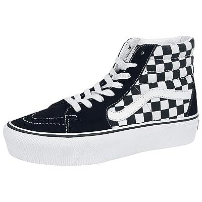 Vans Sk8-Hi Platform 2 Suede Canvas Shoes | Shoes