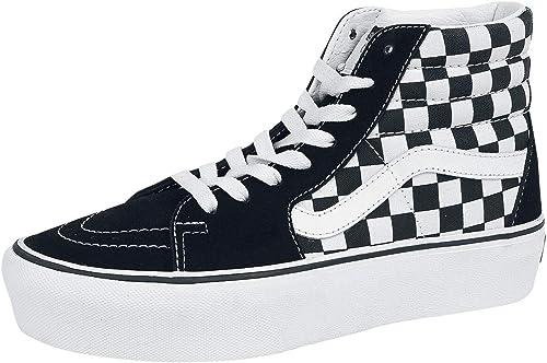 Vans Sk8 Hi Platform 2 Suede Canvas Shoe Size