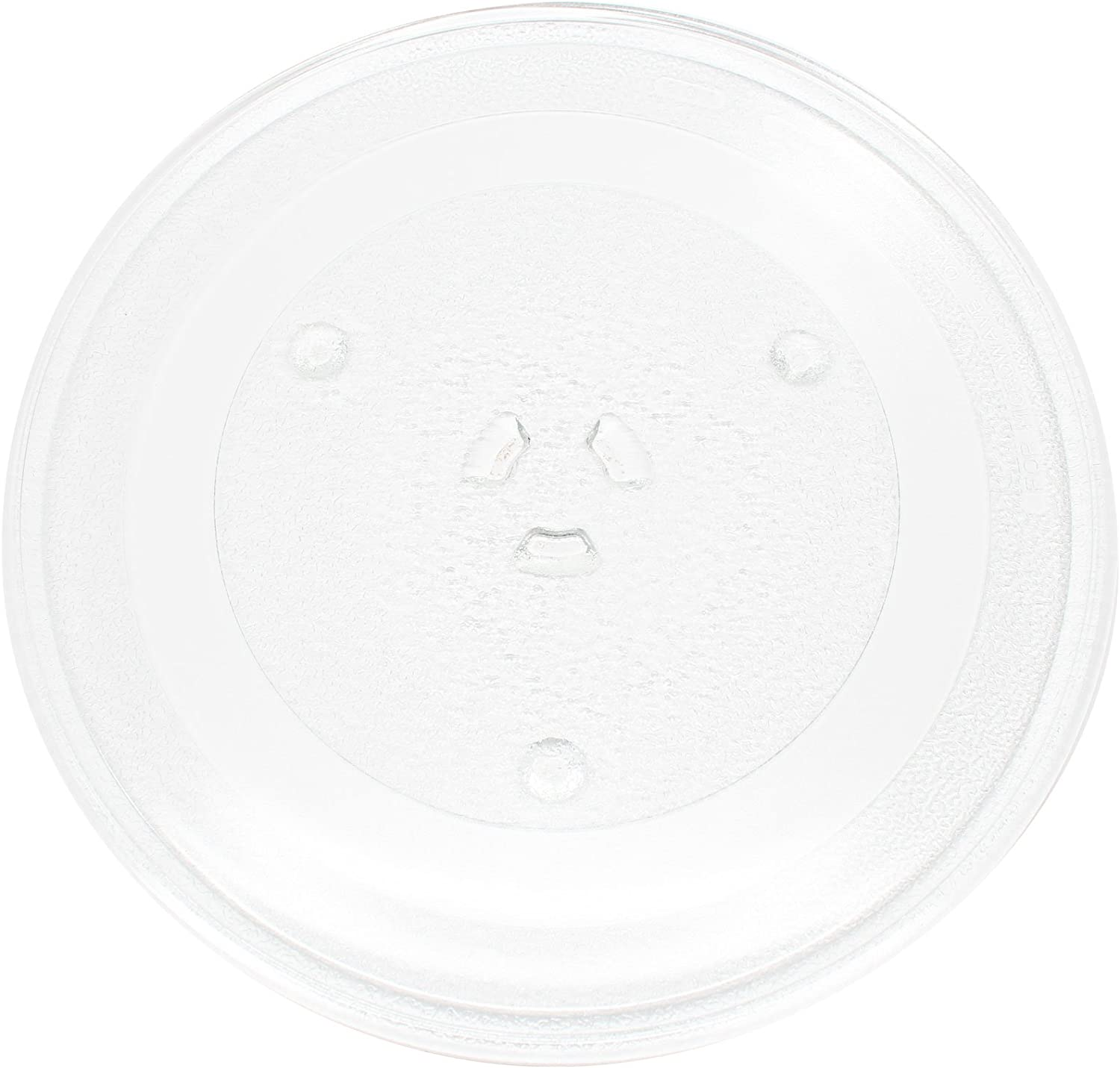 "Replacement for Samsung MW4592W Microwave Glass Plate - Compatible with Samsung DE74-20102 Microwave Glass Turntable Tray - 11 1/4"" (285mm)"