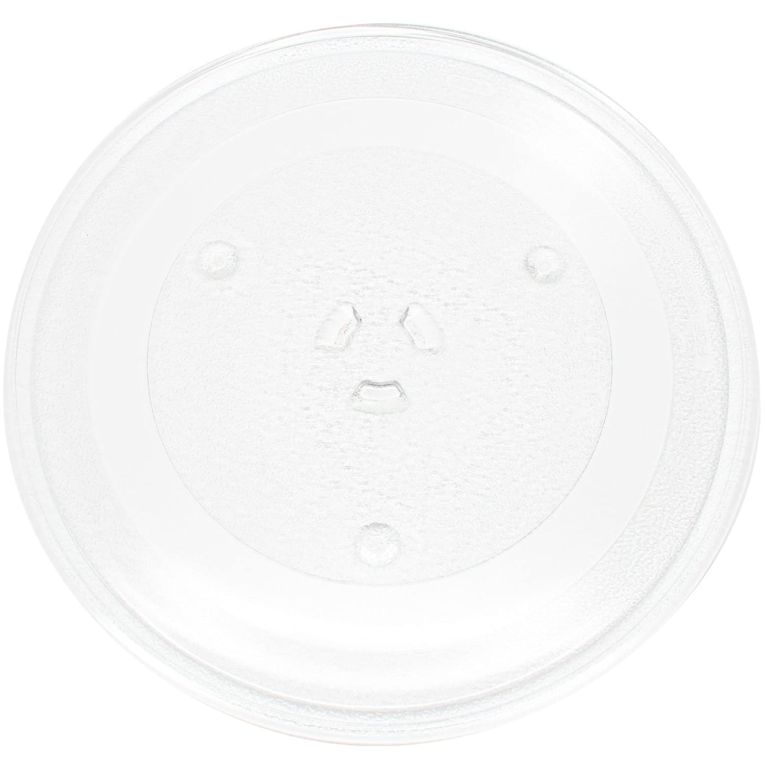 "Replacement Samsung MW4370W Microwave Glass Plate - Compatible Samsung DE74-20102 Microwave Glass Turntable Tray - 11 1/4"" (285mm)"