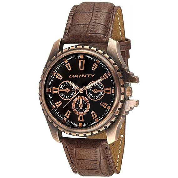 DAINTY Analog Brown Dial Men's Watch - EG-W-CP