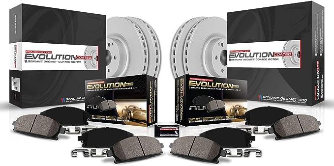 Power Stop CRK6096 front Z17 Evolution Geomet Coated Brake Kit