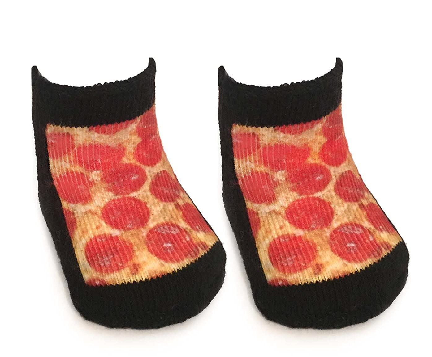 Pizza Baby Socks 0-6 Month Living Royal