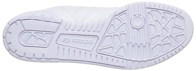 adidas Rivalry Lo, Chaussures de sport homme - Blanc - Ftwwht/Ftwwht/Ftwwht, 41.3333333333 EU