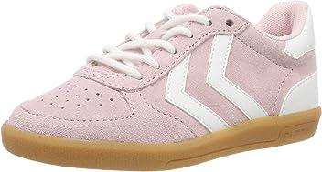 6806d142568 hummel Girls' Victory Suede Jr Low-Top Sneakers