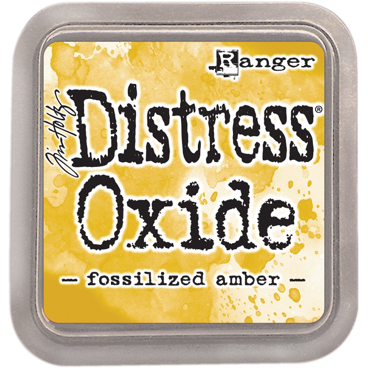 Ranger Fossilized Amber Distress Oxide Ink Pad, Yellow RGRTDO.55983