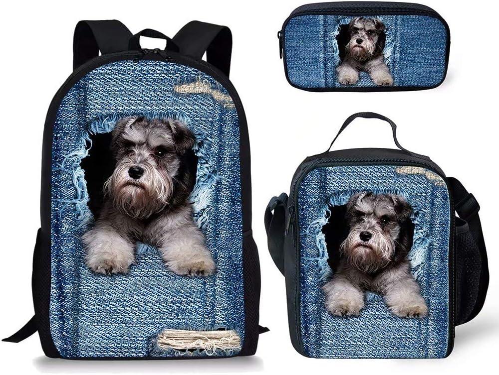 POLERO Unisex childrensSchoolbag Set Hund-1 M