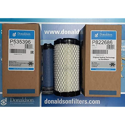 DONALDSON P822686 - P535396 AIR FILTER SET BY SUINPLA: Automotive