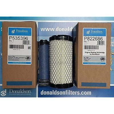 DONALDSON P822686 - P535396 AIR FILTER SET BY SUINPLA: Automotive